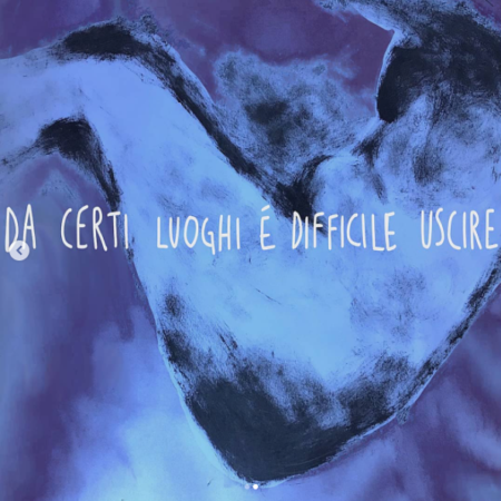 Sara Checconi Sbaraglini, Da certi luoghi è difficile uscire,2020 Dittico (video e immagine)